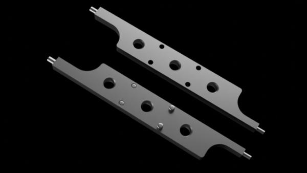 Lange Klingen mit zylindrischen Arbeitenden ø1,5 und 2mm